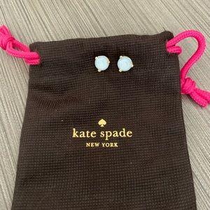 NWOT White Kate Spade Earrings